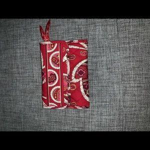 Pink Vera Bradley Multi-pocket Wallet